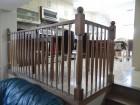 Słup drewniany + metal S58