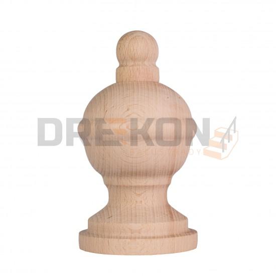 Kula drewniana z wypustką  fi~68mm
