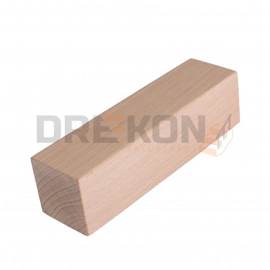 Poręcz drewniana profil kwadratowy 4x4cm