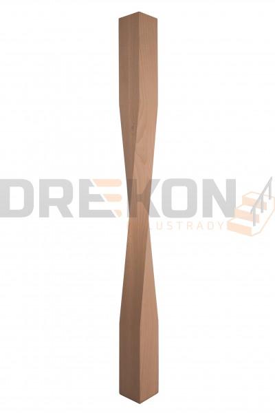 Słup drewniany skrętny S20
