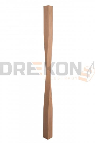 Tralka drewniana skrętna T20