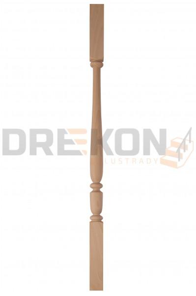 Tralka drewniana T17kk