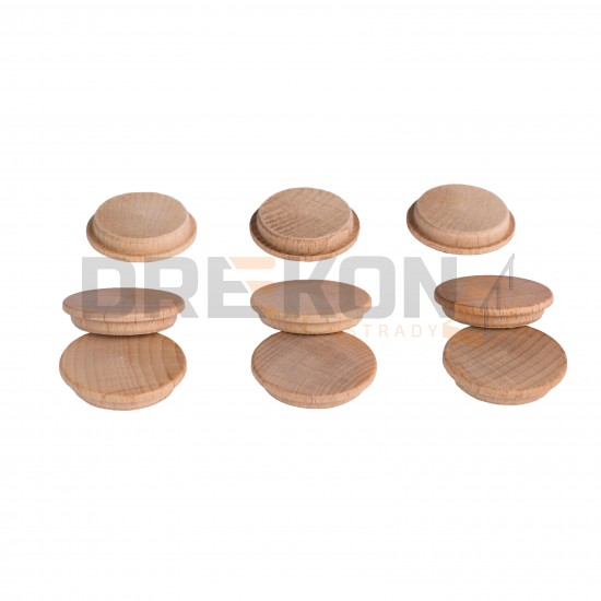 Zaślepki drewniane pod złącze ZipBolt (grzybki) fi35mm