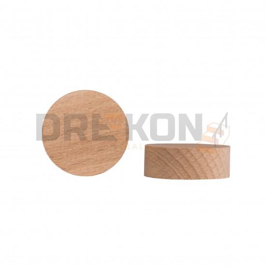 Zaślepki drewniane pod złącza ZipBolt (fi25mm lub fi35mm)